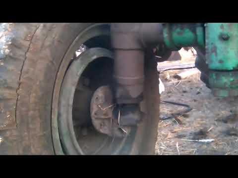Доработка переднего моста трактора т40.