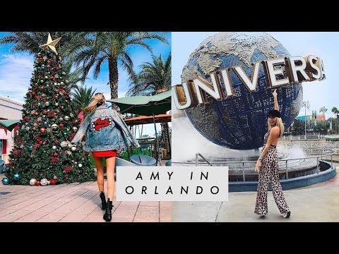 TRIP TO ORLANDO || TRAVEL VLOG || amynevfashiondiaries