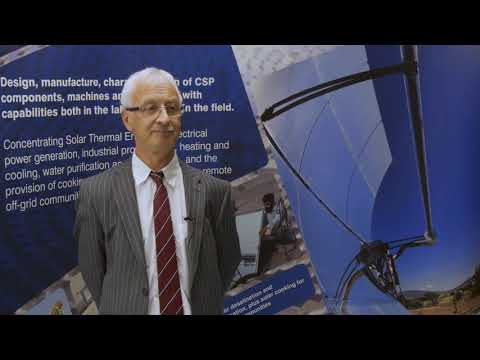 Professor Chris Sansom - Concentrated Solar Power