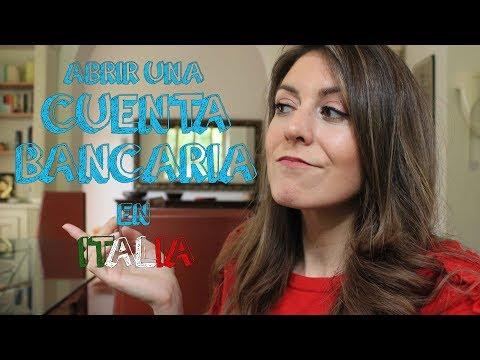 ITALIA - ¿Cómo abrir una cuenta bancaria? ¿Qué necesito para vivir en Italia?