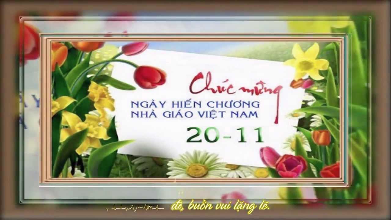 Chúc Mừng Ngày Nhà Giáo Việt Nam 20/11