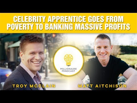 Millionaire Interviews: Troy McClain on Going From Poverty to Massive Profits