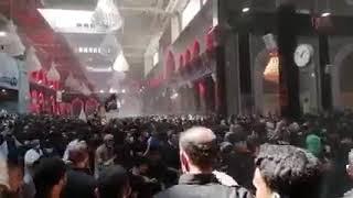 دفن الاجساد الطاهرة عزاء بني اسد  يوم الاحد  22  8  2021