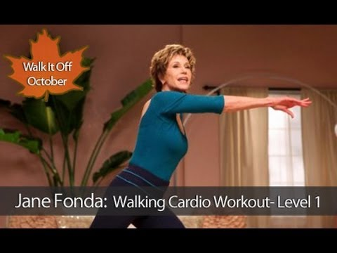 Jane Fonda Walking Cardio Workout Level