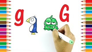 How to draw using letter G | Learn Drawing For Kids | Kids Art TV