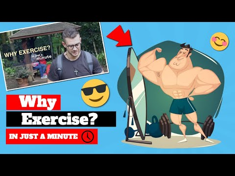 Why Exercise? Fr. Rob Galea - In Just A Minute - Episode #2