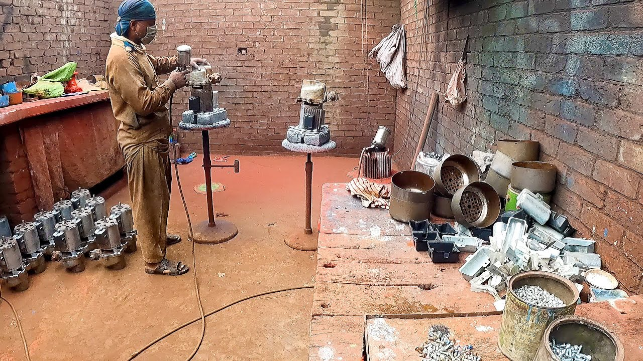 Labored Process Of Manufacturing Electric Water Pumps