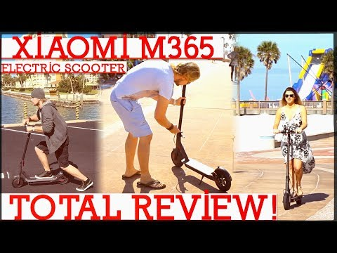 Xiaomi Mijia M365 Electric Scooter TOTAL Review & Unboxing (Clearwater, FL)