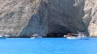 Zakynthos-Sosire Plaja Navagio(Zakynthos-Arrive Navagio Beach)-HD