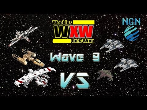 Star Wars X-Wing Miniatures | Wave 9 - Game 2