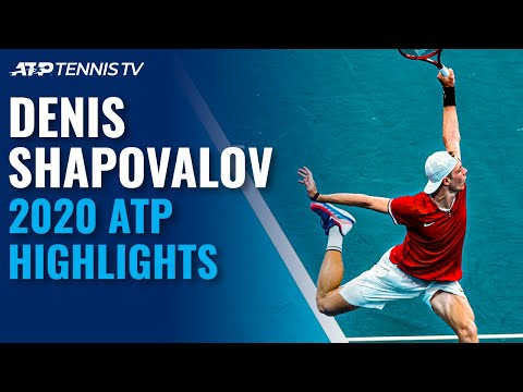Denis Shapovalov: 2020 ATP Highlight Reel!