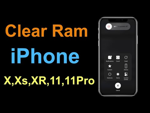 iPhone X/XS/XR - How To Clear Ram Memory