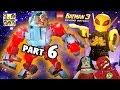 Lets Play Lego Batman 3 - Firefly & Giant Cyborg! (Part 6 BEYOND GOTHAM) Space Station Infestation
