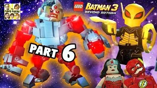 Lets Play Lego Batman 3 - Firefly & Giant Cyborg! (Part 6 BEYOND GOTHAM) Space Station Infestation