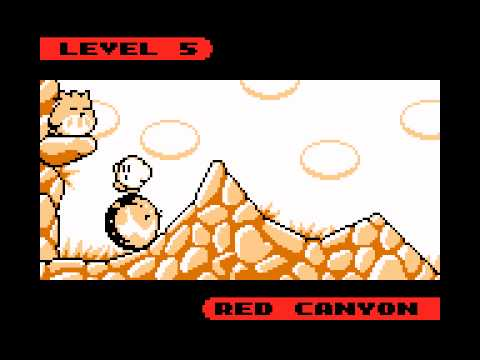 Kirby's Dream Land 2 OST (Game Boy) - Track 18/31 - Red Canyon
