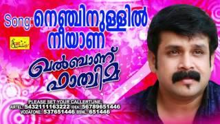 MAPPILA ROMANTIC ALBUM SONG | നെഞ്ചിനുള്ളിൽ നീയാണ് | KHALBANU FATHIMA | Thajudheen Vatakara