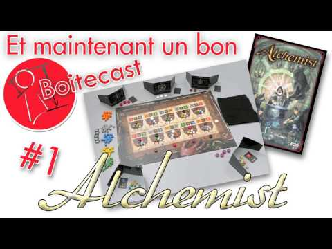 Boitecast 001 - Alchemist de Carlo A. Rossi - Gigamic
