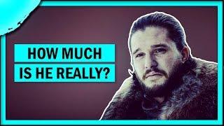 What percent Targaryen is Jon Snow?