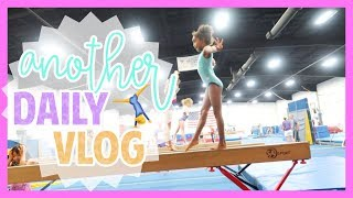 Gymnastics, Hamburger Steaks recipe &amp singing in the car  Daily Vlog