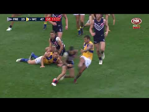 Round 17 AFL - Fremantle v West Coast Eagles Highlights