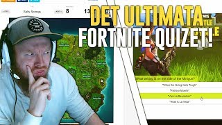 THE ULTIMATE FORTNITE QUIZET! #1 (WHAT AM I FOR THE TYPE OF FORTNITE PLAYER??)