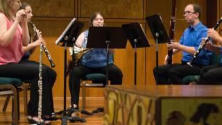 Kleine Kammermusik for Wind Quintet by Paul Hindemith