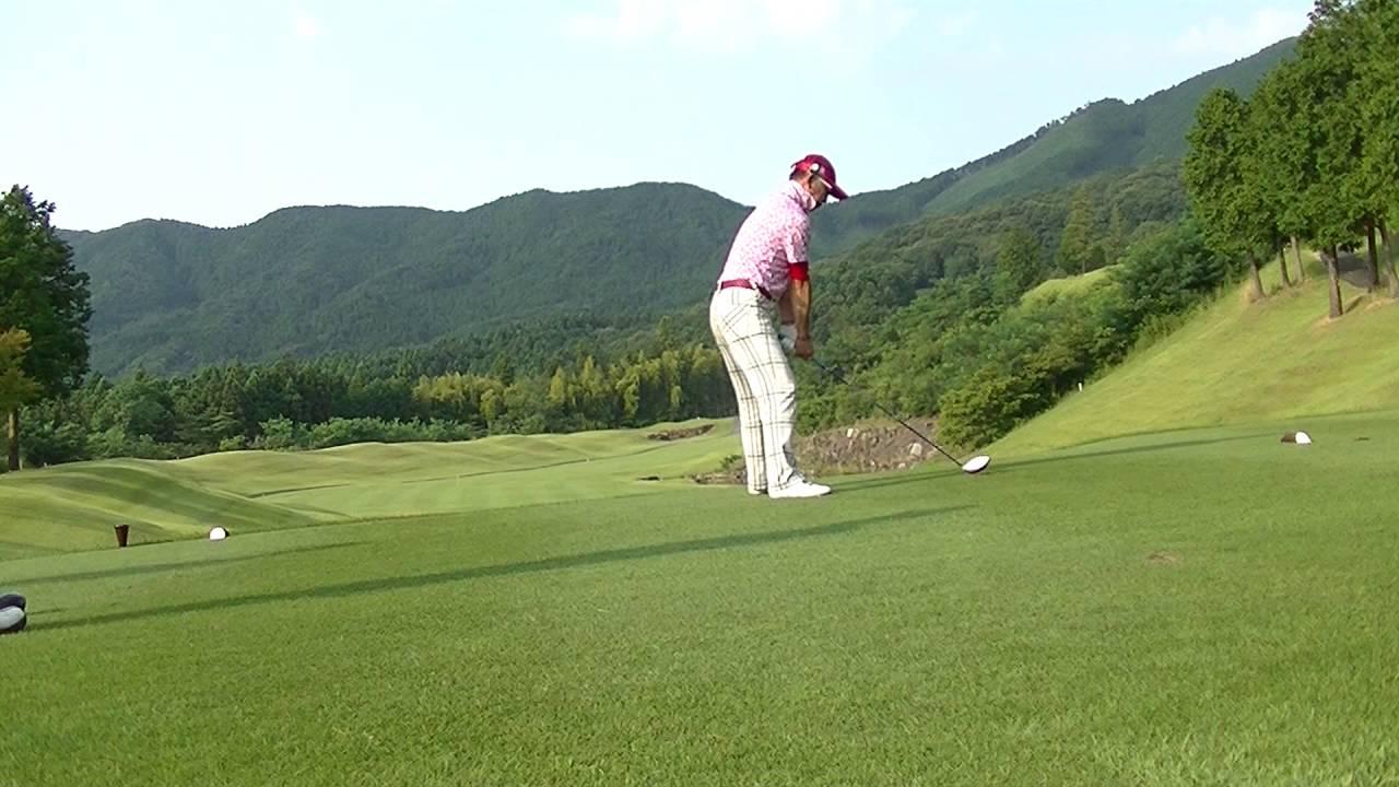 石岡ゴルフ倶楽部ウエストコース 20160810 - YouTube