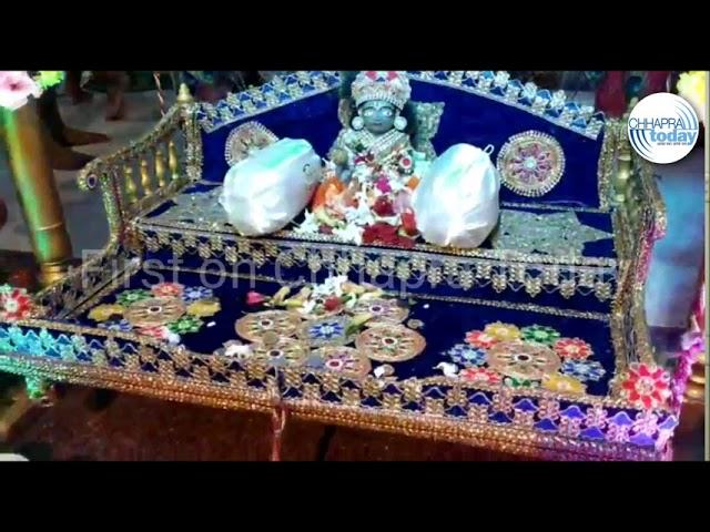 श्री कृष्ण जन्माष्टमी के अवसर पर साहेबगंज सोनारपट्टी के कोठिया बाबा मंदिर में विशेष पूजा