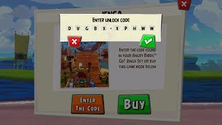 Angry Birds GO! Jenga Code to Unlock App Content - the Jenga Trophy Cup Challenge Game