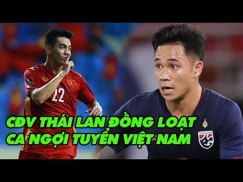 TIN BÓNG ĐÁ #8/6: CĐV Thái Lan nhìn Việt Nam đá mà phát ngán với đội nhà
