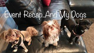 Event Recap / Meet My Dogs /My First Vlog!