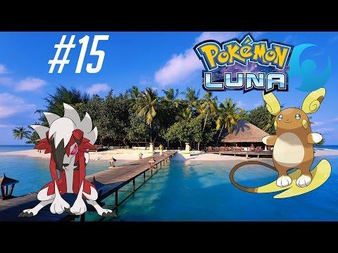 POKÉMON LUNA - Explorando Ula-Ula con Lycanroc y Raichu Alola!! EP 15