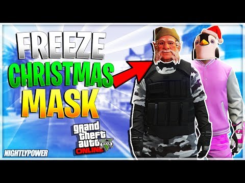 Gta 5 Online All Christmas Masks.All Xbox One Ps4 Solo Freeze Christmas Mask Gta