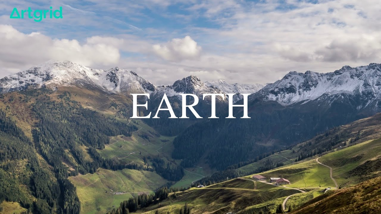 Earth in 4K【Artgridの映像素材だけで動画を作ってみた】