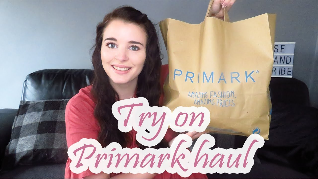 f90f0e5a4c Try on primark haul | may 2019 | sarah dee | Channel Mum