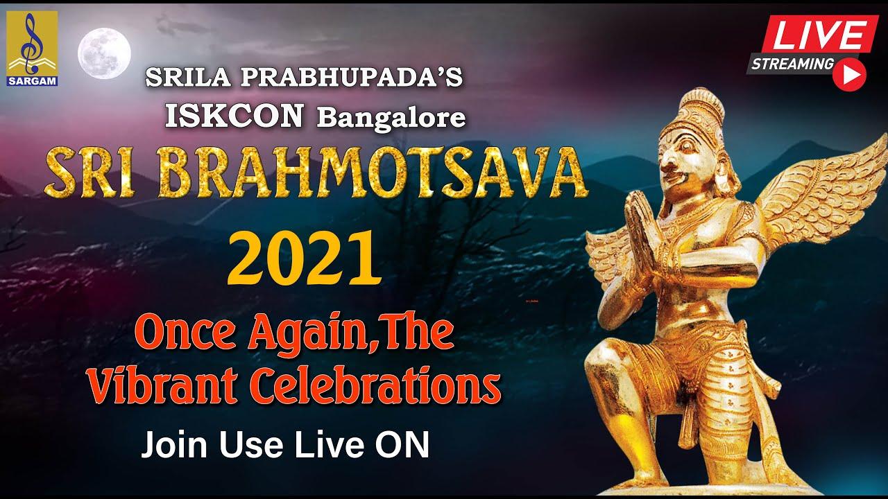 ? (LIVE) Sri Brahmotsava 2021   Radha Rasavihari Alankara   Chandra Prabha Vahana