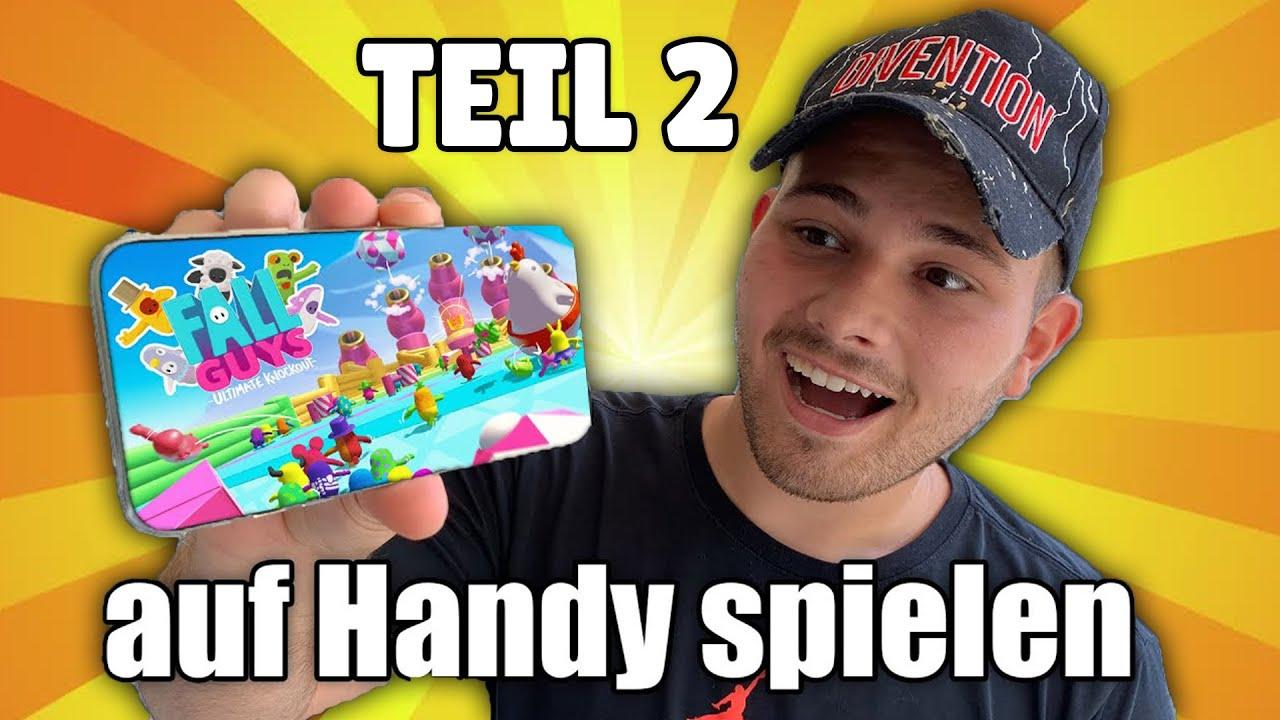 FALL GUYS AUF HANDY SPIELEN!! Teil 2