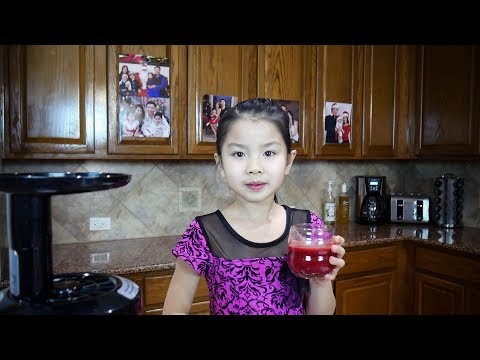 How to make a healthy juice for your kid