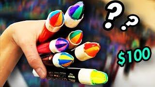 Weirdest Markers Ever ?! 👏👏 [MARKER REVIEW #5]