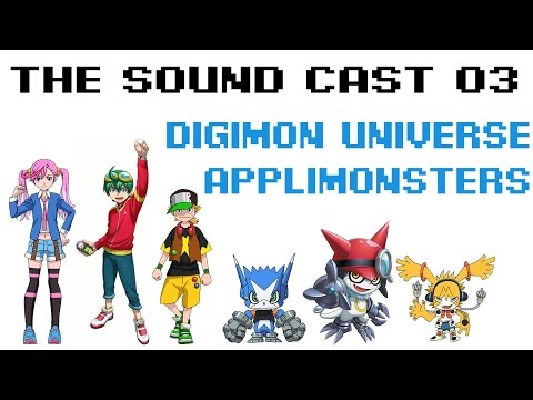 Digimon Universe Applimonsters Review [The Sound Cast 03]