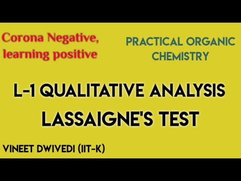 ENTIRE CONCEPTS OF QUALITATIVE ANALYSIS|PRACTICAL ORGANIC CHEMISTRY