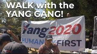 YANG GANG Day  Santa Monica Oct 5 2019