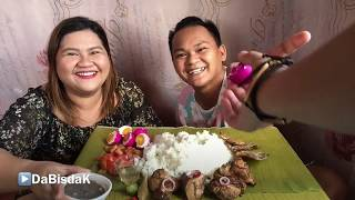 CHICKEN ADOBO | MUKBANG | FILIPINO FOOD | BOODLE FIGHT | adobo