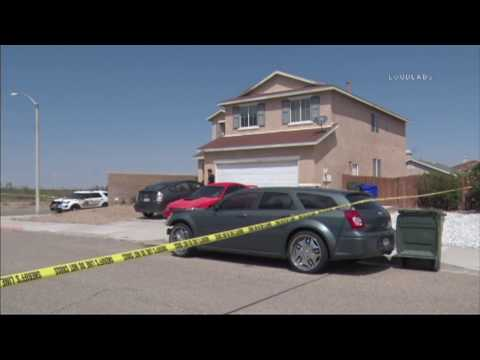 Son Kills Mother in Home / Victorville   RAW FOOTAGE