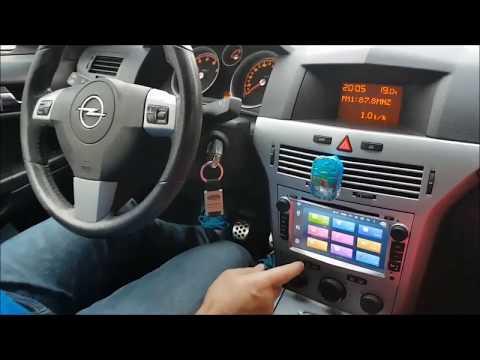 Radio navegador Opel Astra H, con Android 6.0