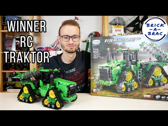 Ein echtes Monster! WINNER Technic/Technique 7119 RC Kettentraktor [Review]