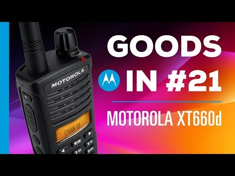 Goods In #21 - Motorola XT660d dPMR446 Business Radio