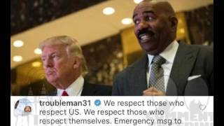 T. I.  Claps Back At Steve Harvey Telling Rappers To Respect Donald Trump