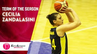 Cecilia Zandalasini - All EuroLeague Women 2019-20 1st Team (Full Highlights)