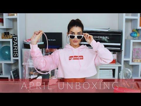 April 2018 Unboxing Haul